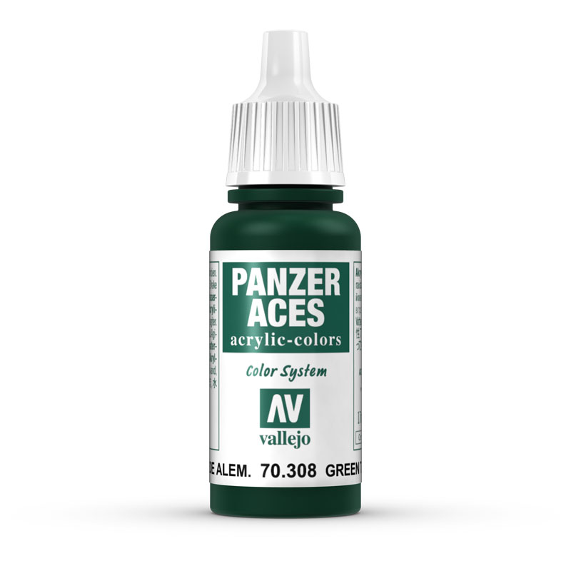70308 Panzer Aces - Green Tail Light 17ml