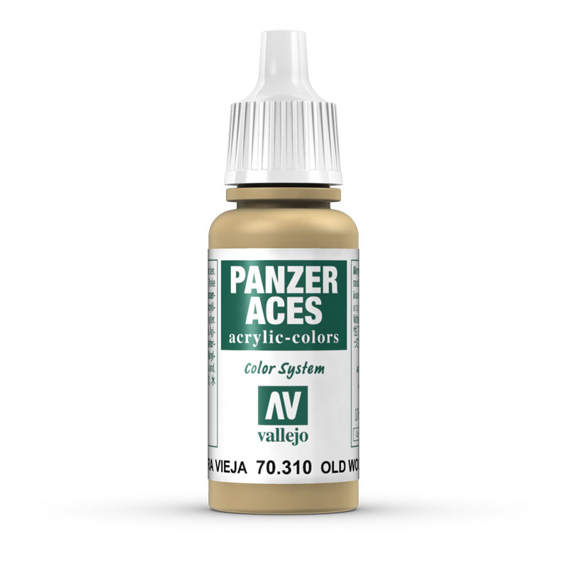 70310 Panzer Aces - Weathered Wood 17ml