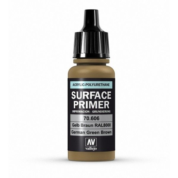 70606 Surface Primer - Ger. Green Brown 17ml