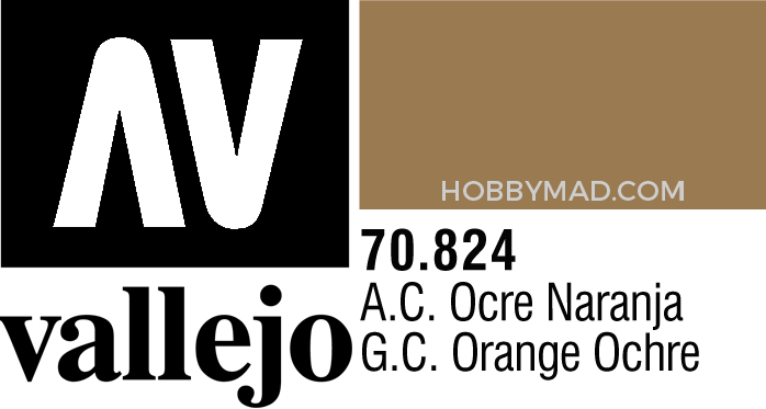 70824 Model Colour - Ger.Cam.Orange Ochre 17ml
