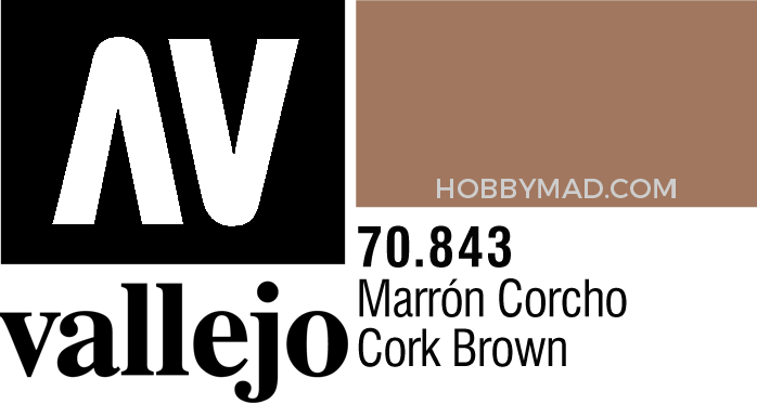 70843 Model Colour - Cork Brown 17ml