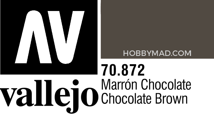 70872 Model Colour - Chocolate Brown 17ml