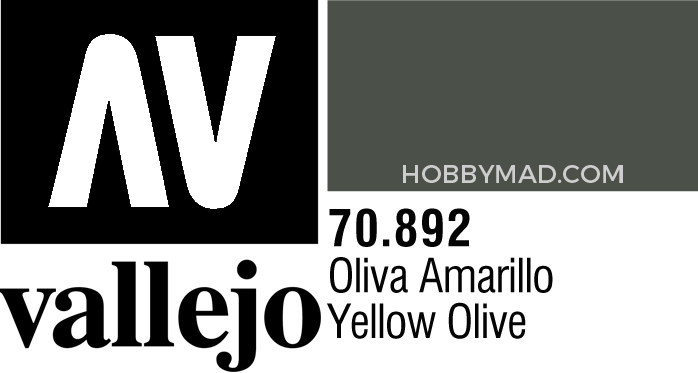 70892 Model Colour - Yellow Olive 17ml