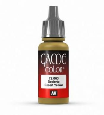 72063 Game Colour - Desert Yellow 17ml