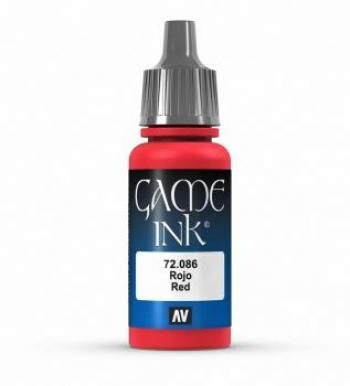72086 Game Colour - Red Ink 17ml