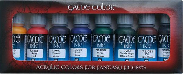 72296 Game Colour Set - Game Inks (8)