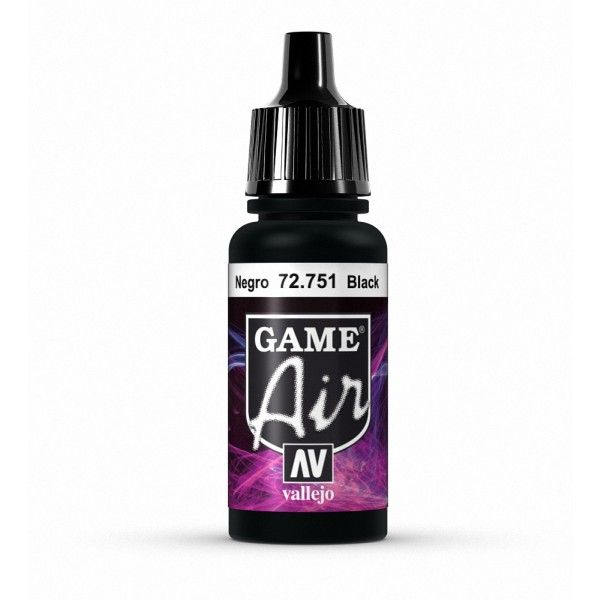 72751 Game Air - Black 17ml