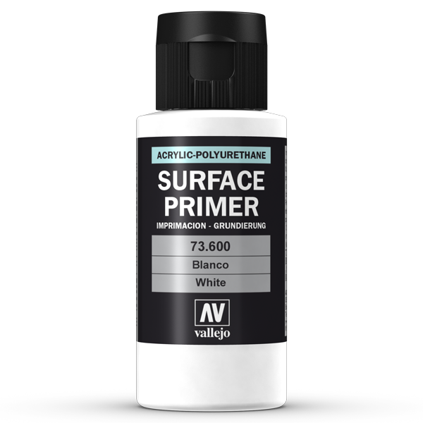 73600 Vallejo Surface Primer - White, 60ml
