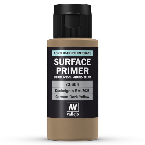 73604 Vallejo Surface Primer - Ger. Dark Yellow, 60ml