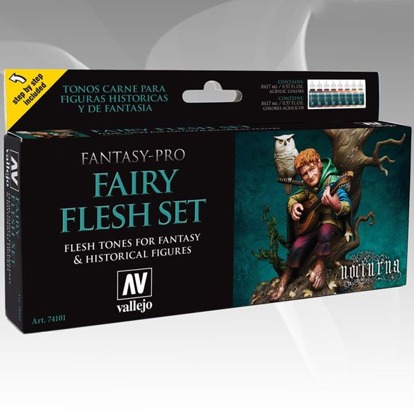 74101 Fantasy-Pro Set - Fairy Flesh (8x17ml)