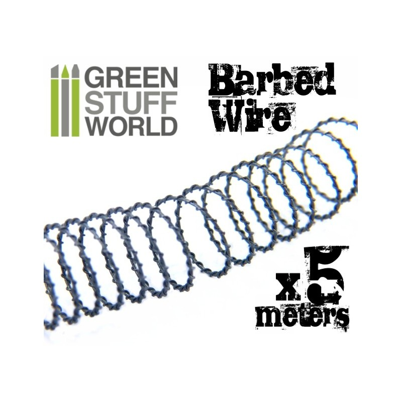 Simulated Barbed Wire, 5 meters