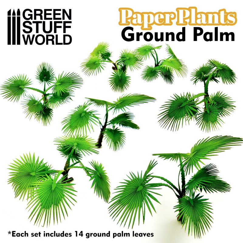 Paper Plants - Ground Palm