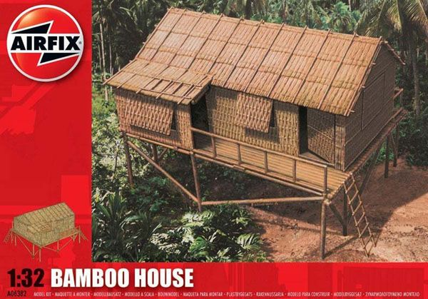 BAMBOO HOUSE, 1:32 SCALE