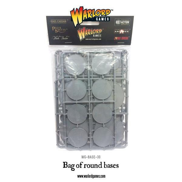 Bag of Round Bases, assorted sizes