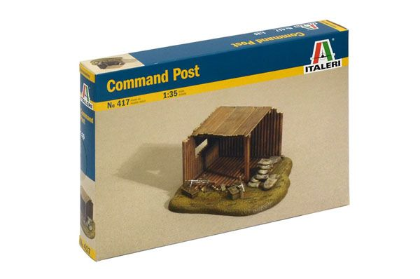 COMMAND POST, 1:35 SCALE