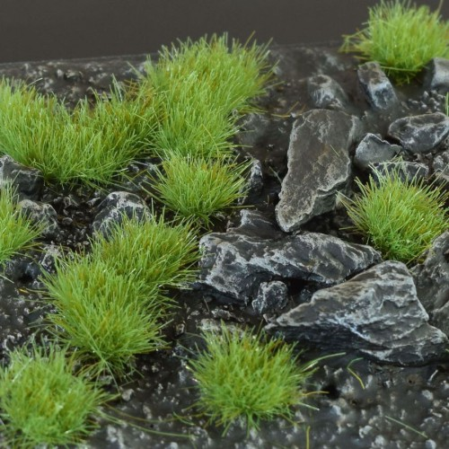Green Tufts, 4mm, SMALL