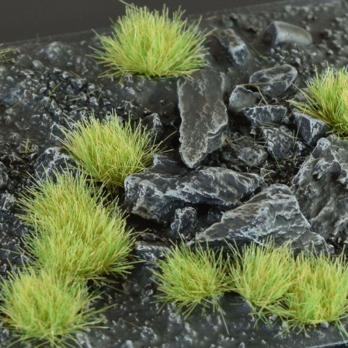 Light Green Tufts, 6mm, SMALL