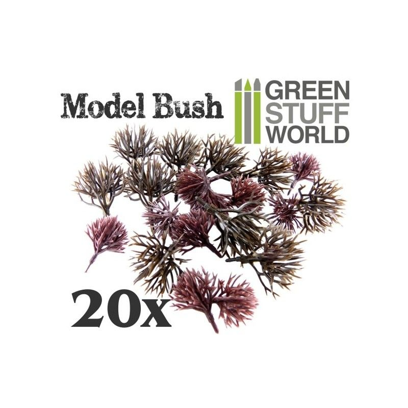 Model Bush Trunks, Pack of 20