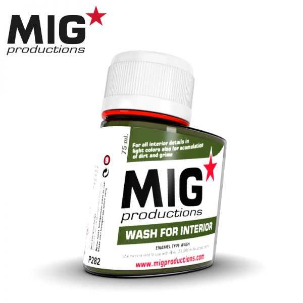 MIG Washes, Wash for Interior, 75ml