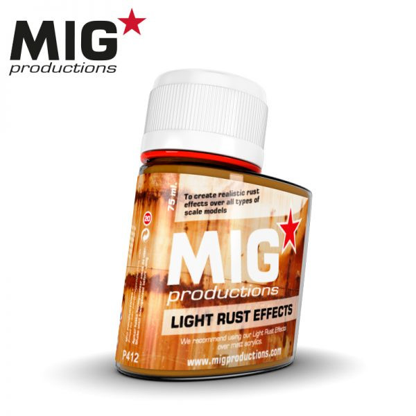 MIG Effects, Light Rust Effects, 75ml