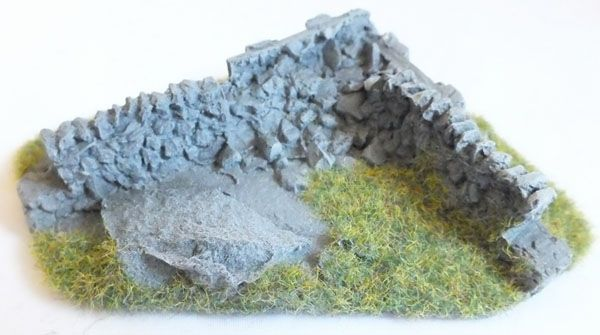 RESIN CORNER PIECES, NO.5, OO SCALE