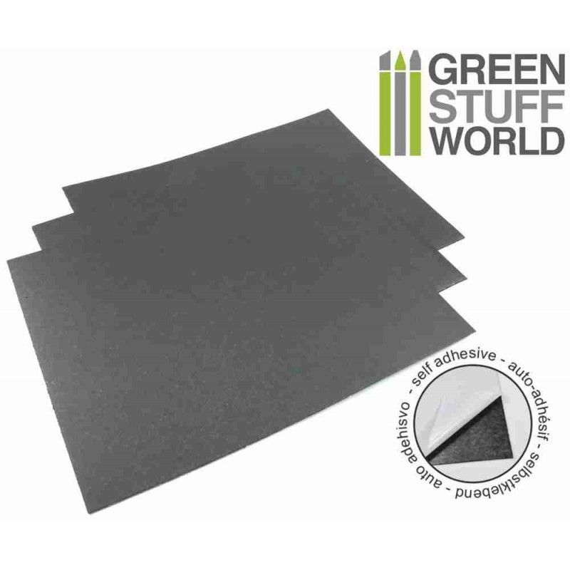 Rubber Steel Sheet 0.9mm Self-adhesive