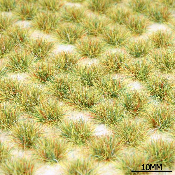 STATIC GRASS TUFTS - MEDIUM, BATTLEFIELD MIX