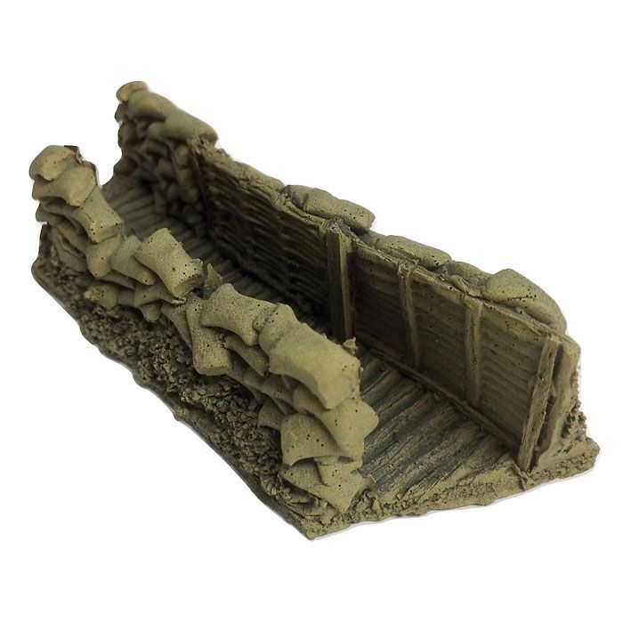 BATTLEZONE 25/28MM TRENCH, TYPE 1