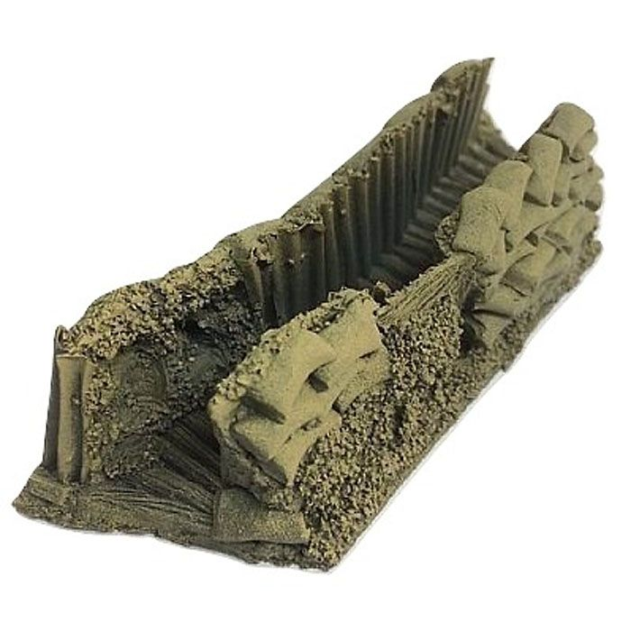 BATTLEZONE 25/28MM TRENCH, TYPE 2