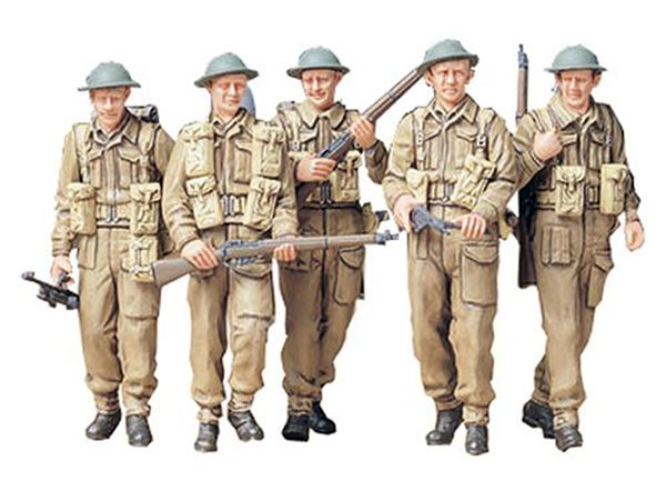 BRITISH INFANTRY ON PATROL 1:35