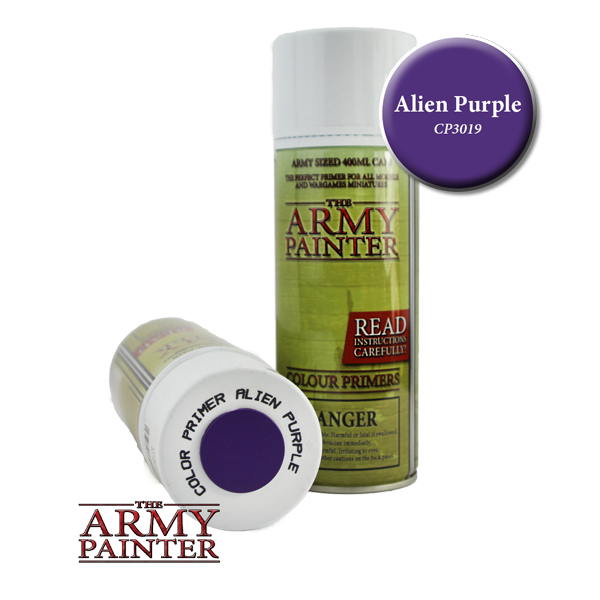Colour Primer Spray - Alien Purple, 400ml