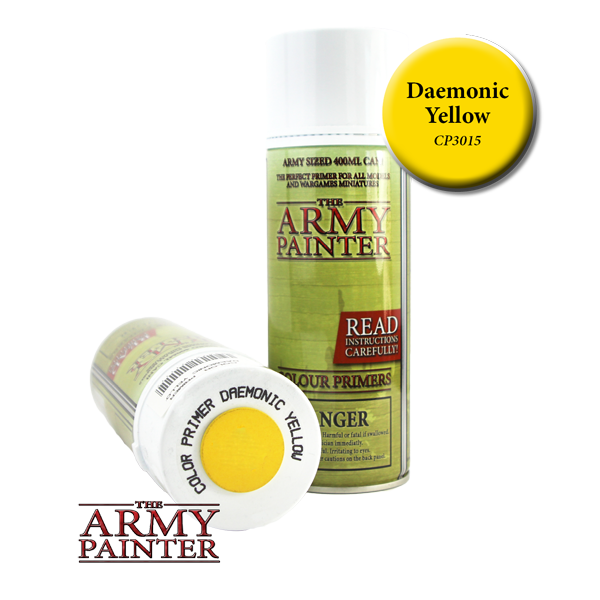 Colour Primer Spray - Daemonic Yellow, 400ml