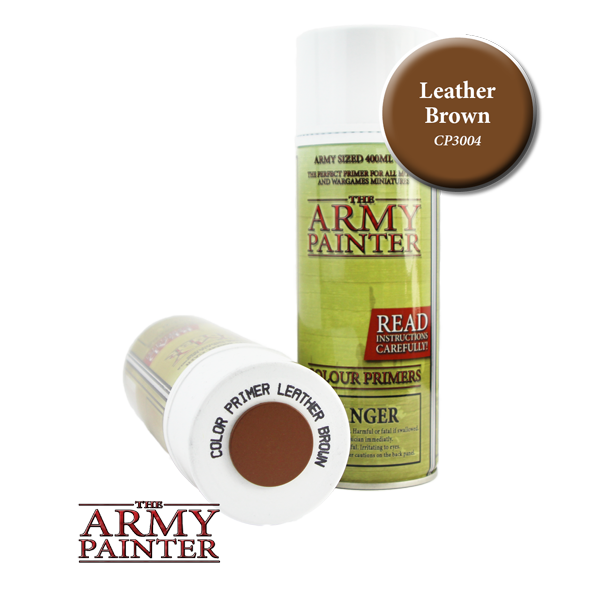 Colour Primer Spray - Leather Brown, 400ml