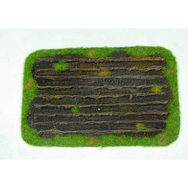 CROPS FIELD, READY PAINTED, 28MM