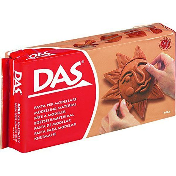 DAS Clay - Terracotta, 500g