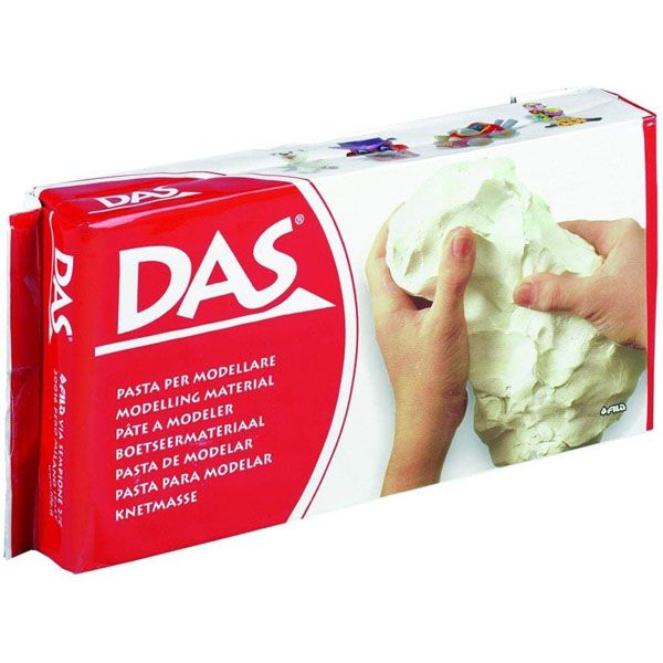 DAS Clay - White, 500g