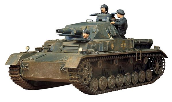 GERMAN PZKPW IV AUSF. D 1:35