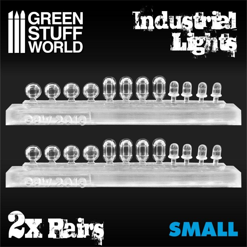 Industrial Lights, Resin, Small, Pack of 24