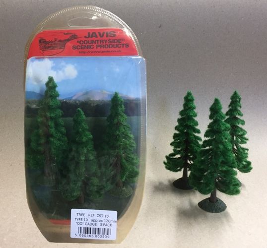 Javis Countryside Trees - Pine, 120mm, Pack of 3