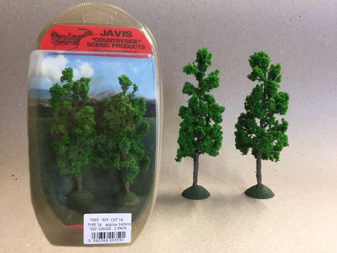 Javis Countryside Trees - Type 16, 140mm, Pack of 2