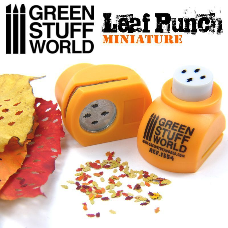 Leaf Punch, Orange, Ref. 1354