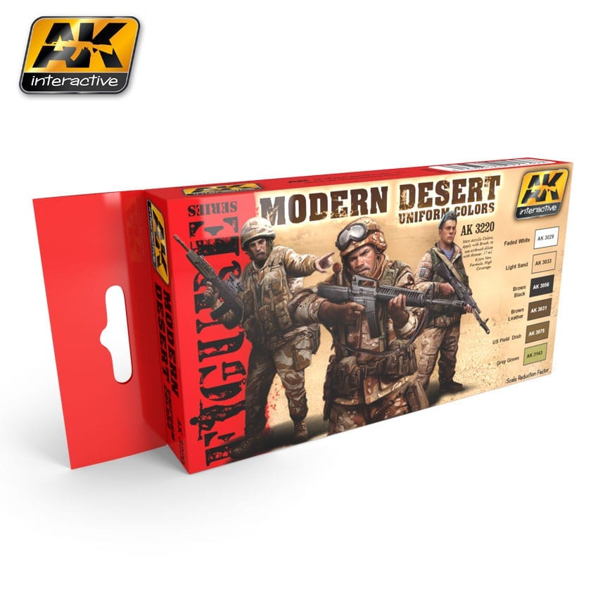 MODERN DESERT COLORS PAINT SET