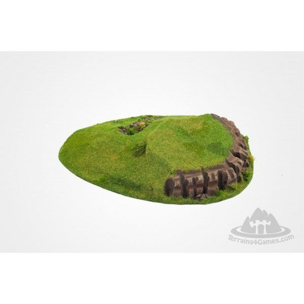 NATURAL HILL I, READY PAINTED, 28MM