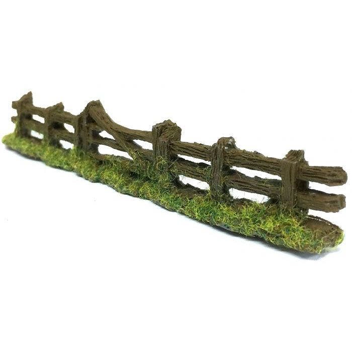 ROUGH FENCING & GATE, OO SCALE