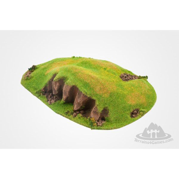 SKIRMISH HILL, READY PAINTED, 28MM