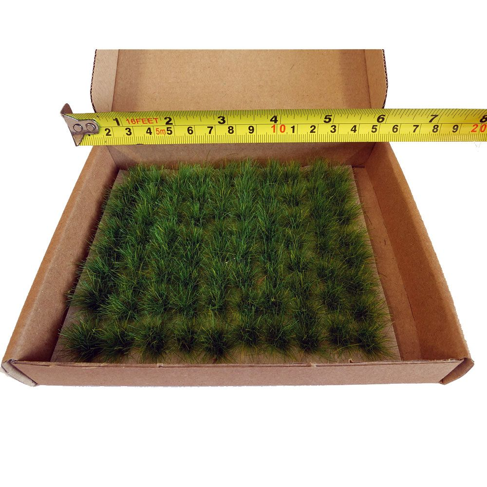 STATIC GRASS TUFTS - EXTRA LARGE, GREEN