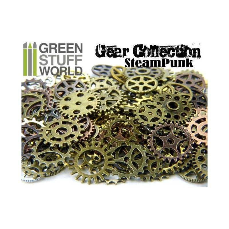 Steampunk Gears and Cogs, VARIETY, 85g