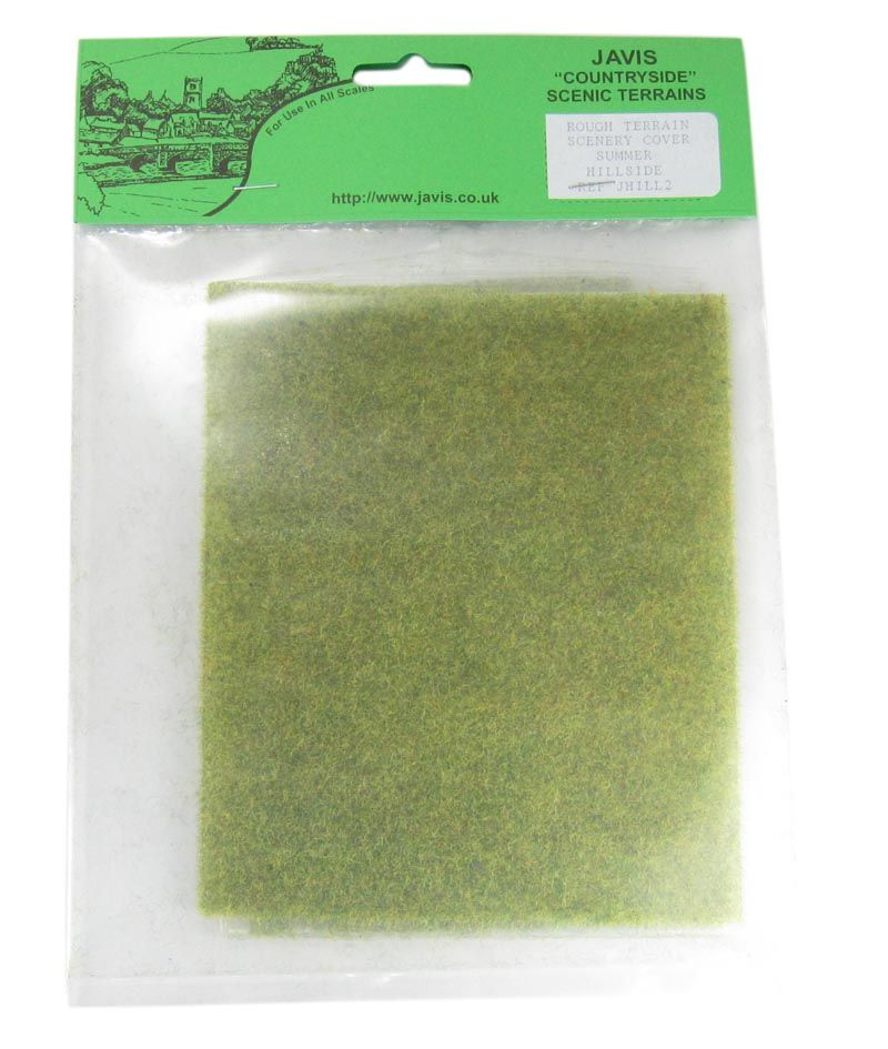 Summer Green Rough Terrain Mat for Scenery Covering