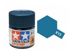 Tamiya Acrylic Mini X-13 Metallic Blue