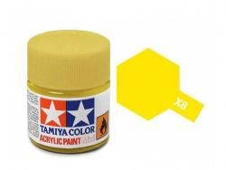 Tamiya Acrylic Mini X-8 Lemon Yellow